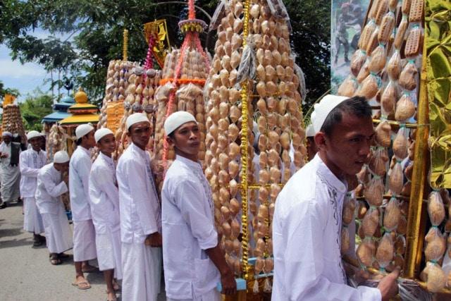 Budaya Saat Walima di Gorontalo