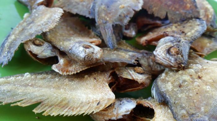 Ikan Sepat Kering Khas Banjarmasin
