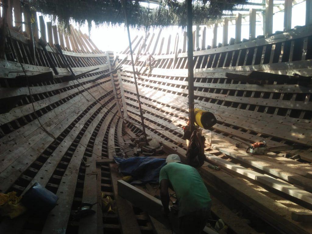 Pembuatan Kapal Pinisi